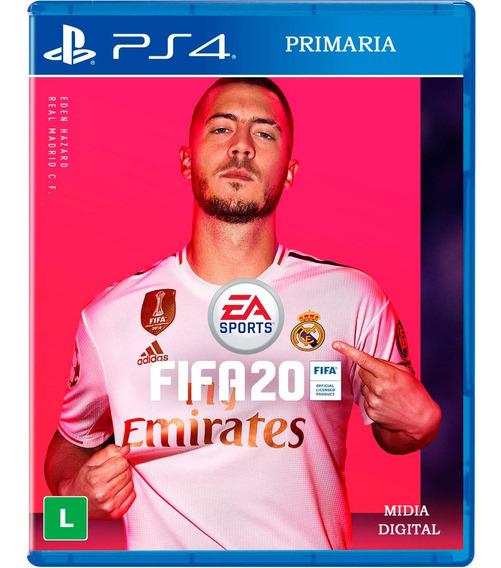 Fifa 20 Ps4 2020 Digital Jogo Em Português Envio Imediato
