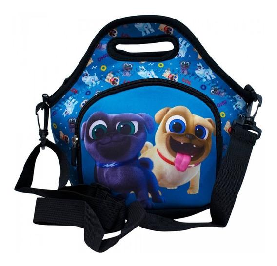 Bolsa Térmica Lancheira Puppy Dog Pals - Disney