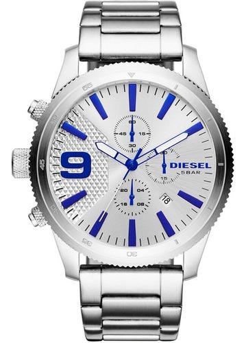 Relógio Diesel Masculino Rasp Cronógrafo Dz4452/1cn
