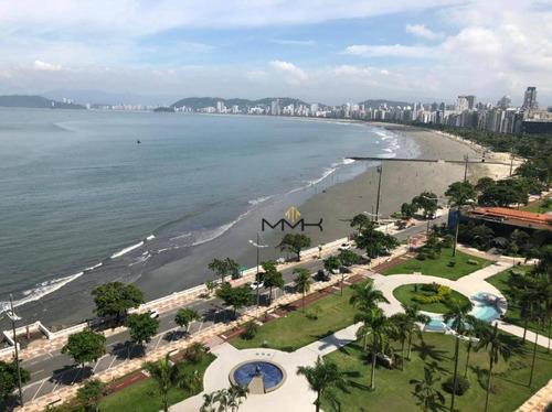 Apartamento Com 2 Dormitórios À Venda, 80 M²  - Ponta Da Praia - Santos/sp - Ap2222