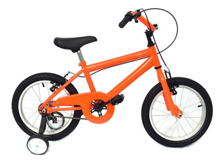 Bicicleta Infantil Cross Rodado 14 Naranja Envio Gratis