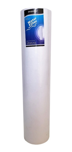 Imagen 1 de 2 de Membrana Sedimento 20 Pulgadas Big Blue 20 Micra Filtro Agua