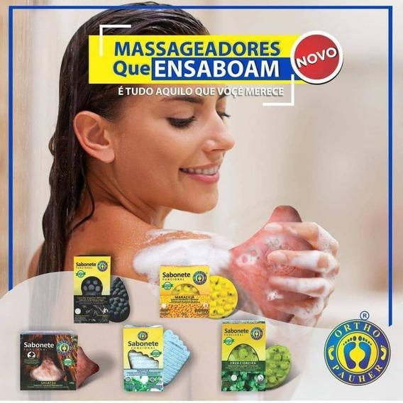 Kit Com 5 Sabonete Funcionais Massagem Orthopauher Promoção
