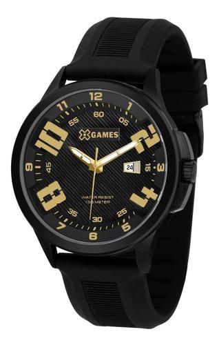 Relógio Xgames Masculino Xmnp1003 P2px Preto Analogico