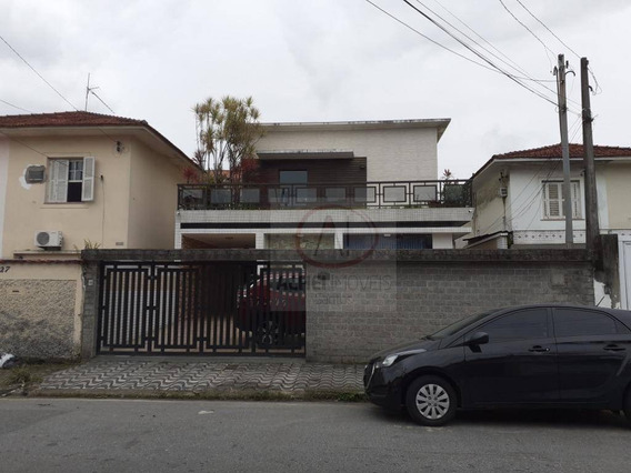 Casa Com 4 Dormitórios, Piscina, Energia Solar, À Venda, 350 M² Por R$ 1.800.000 - Vila Valença - São Vicente/sp - Ca1540