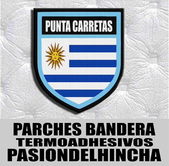 Parche Termoadhesivo Fsh Escudo Punta Carretas Uruguay