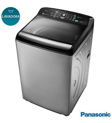 Lavadora Roupas Panasonic 16kg Preta 9 Na-f160p5x