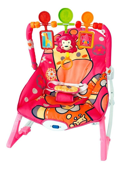 Cadeira Bebe Conforto Vibratória Cadeirinha Musical Balanço