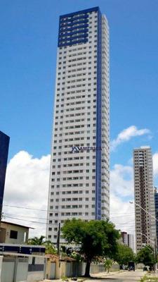 Apartamento Com 3 Dormitórios À Venda, 71 M² Por R$ 486.000 - Manaíra - João Pessoa/pb - Ap0125