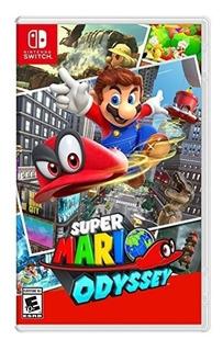 Super Mario Odyssey Switch Mídia Física Lacrado