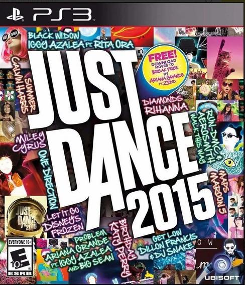 Jogo Novo Lacrado Da Ubisoft Just Dance 2015 Para Ps3 Lacrad