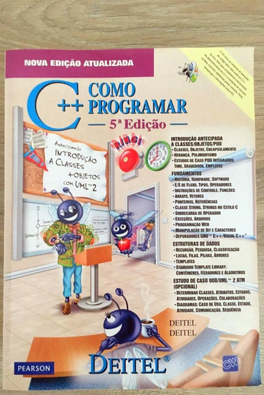 Livro C++ Como Programar (português) Capa Comum