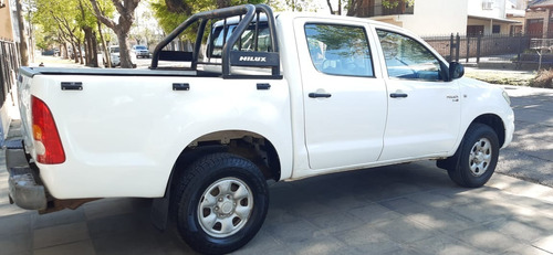 Toyota Hilux 2.5 Dx Pack Cab Doble 4x4 (2010)