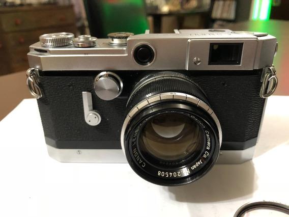 Canon Vt C/lente 50mm F;1.8 Rosca Leica C/bolsa Original