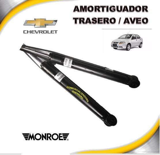 Amortiguador Trasero Chevrolet Aveo 20074-2010 Monroe X Par