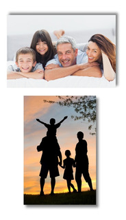 Kit Duas Placas Personalizadas Mdf A4 Sua Foto Imagem Arte