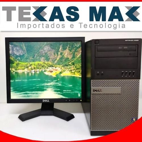 Imagem 1 de 8 de Kit Computador Dell 9020 I5 + Monitor 17+ Mouse E Teclado