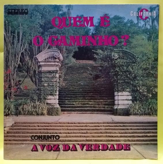 Lp Disco Vinil - Voz Da Verdade Quem É O Caminho 1978