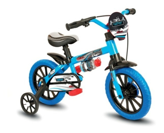 Bicicleta Infantil Masculina Aro 12 Veloz