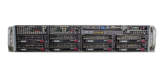 Servidor Rack Dual Xeon Quad Core - Hd 2tb 32gb Ram Sotorage