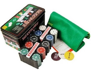 Set De Poker Texas Hold`em Fichas Casino 200 Fichas