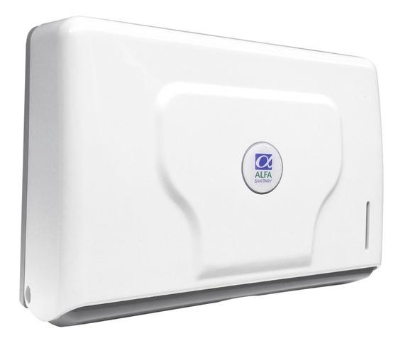 Dispensador Small P/ Toalla Interdoblada Tipo Sanitas Blanco