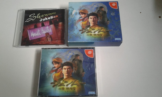 Jogo Dreamcast Shenmue Original Edição Limitada 5 Cds