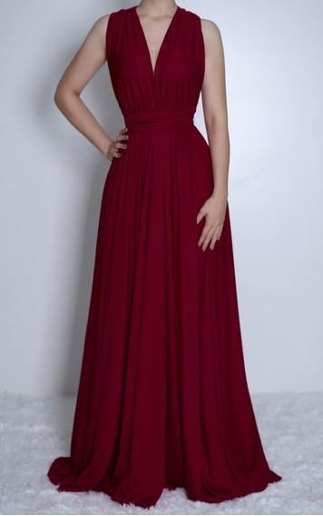 Vestido De Noiva Marsala Vestidos Femeninos Longo Com O