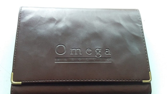 Manual Do Proprietário Omega Cd 3.8 V8 Sedan Gas Capa Couro