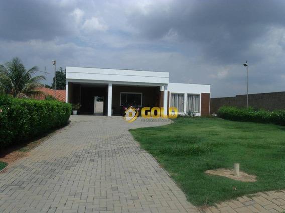 Chácara Com 4 Dormitórios À Venda, 850 M² Por R$ 780.000 - Parque Da Represa - Paulínia/sp - Ch0032
