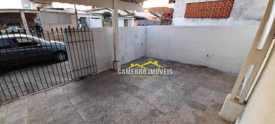 Casa Com 3 Dormitórios Para Alugar Por R$ 780,00/ano - Jardim Europa I - Santa Bárbara D