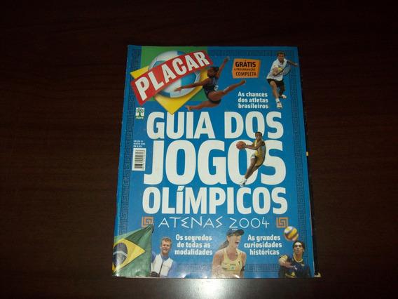 Revista Placar - Guia Dos Jogos Olimpícos De 2004