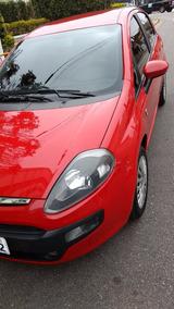 Fiat Punto Attractive Itália 1.4 Vermelho 2013 Só Venda!