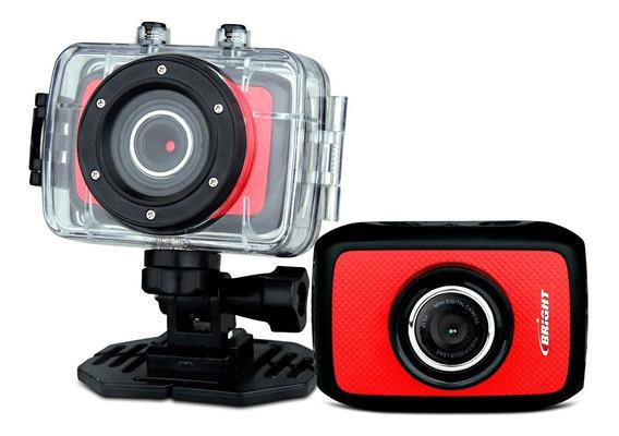 Câmera Filmadora Esportes Bicicleta Carro Moto Prova D
