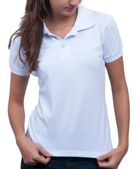Blusas Camiseta Camisa Femininas T-shirt Gola Polo Clássica