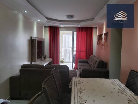 Apartamento Na Vila Augusta, Condomínio Suprema, 75m², 3 Dormitórios, 1 Suíte, 1 Vaga. - Ap0764