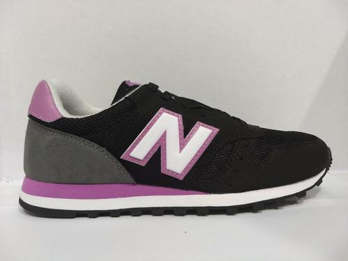new balance 373 mujer negro y rosa