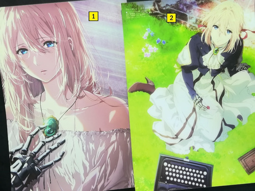 Posters A3 29x42cm Anime Violet Evergarden / Niponmania