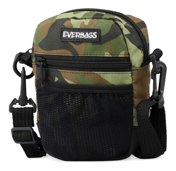 Shoulder Bag Camuflada Everbags Bolsa Tira Colo Necessaire 2