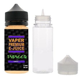 5 Essencia Líquida Ejuice Eliquid Vaper 30ml 0mg
