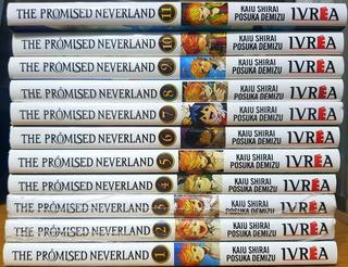 The Promised Neverland - Tomo 1 Al 11 - Manga - Ivrea