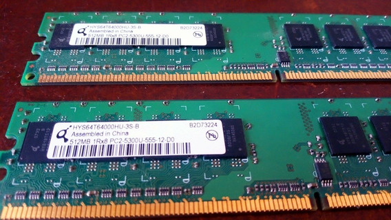 Memoria Ram Ddr2 512 Mb Infenion