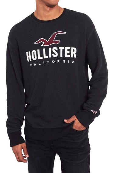 Sueter Hollister California Logo Graphic Chumbo