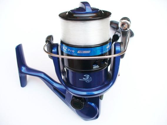Carrete De Pesca Okuma Topaz Pro 380 ¡envío Gratis!