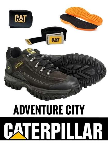 Coturno Caterpillar Adventure City Bota Botina Frete Grátis