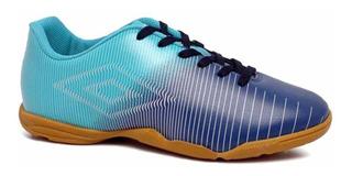 Tenis Indoor Umbro Vibe Futsal Adulto Marinho Azul