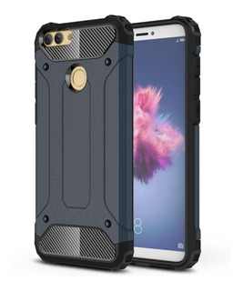 Forro Estuche Huawei P Smart Tpu Carbon Fiber Cepillado