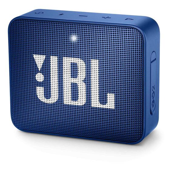 Caixa Multimídia Portátil Go 2 Azul Jbl Nfe + Frete Grátis