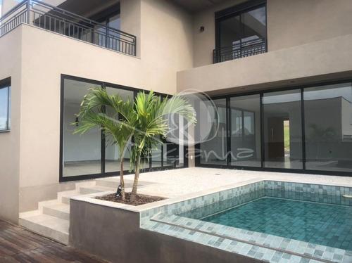 Imagem 1 de 26 de Casa Para Venda Em Condomínio No Parque Dos Alecrins Em Campinas - Imobiliária Em  Campinas - Ca00992 - 69326083
