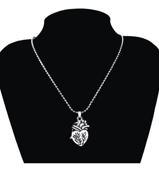 Collar Pareja Duo Amor Regalo Corazon Anatomico